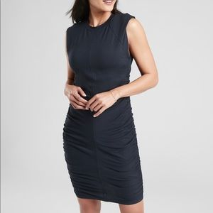 Athleta Apres dress in navy captain